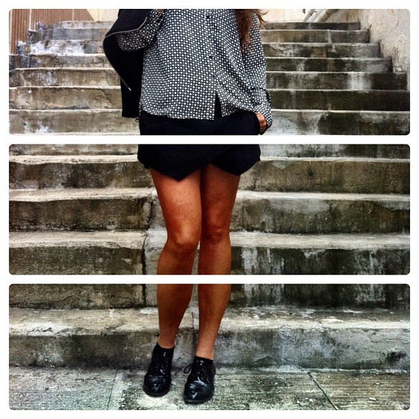Love these Zara shorts!