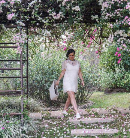The Secret Garden in a Lace Dress